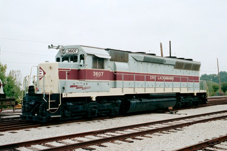 Erie Lackawanna 3607
