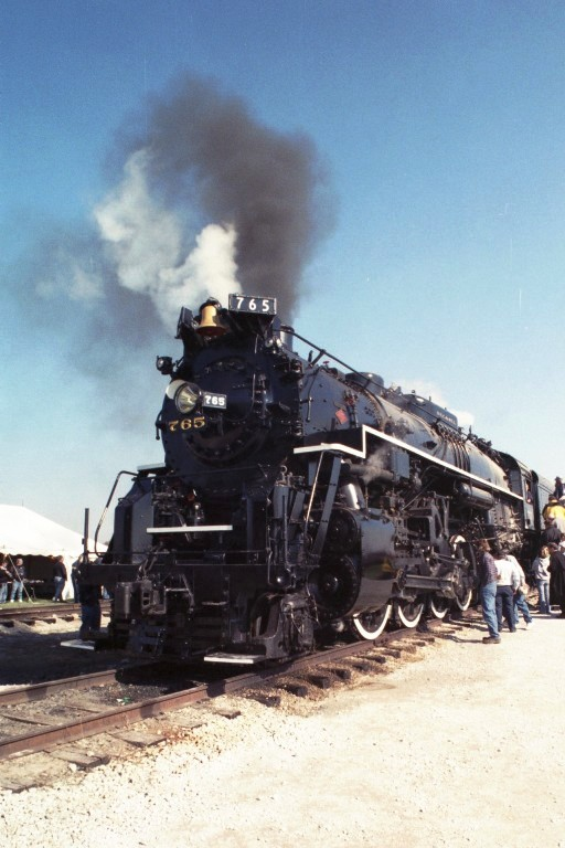 Nickel Plate Road 765 at New Haven, IN