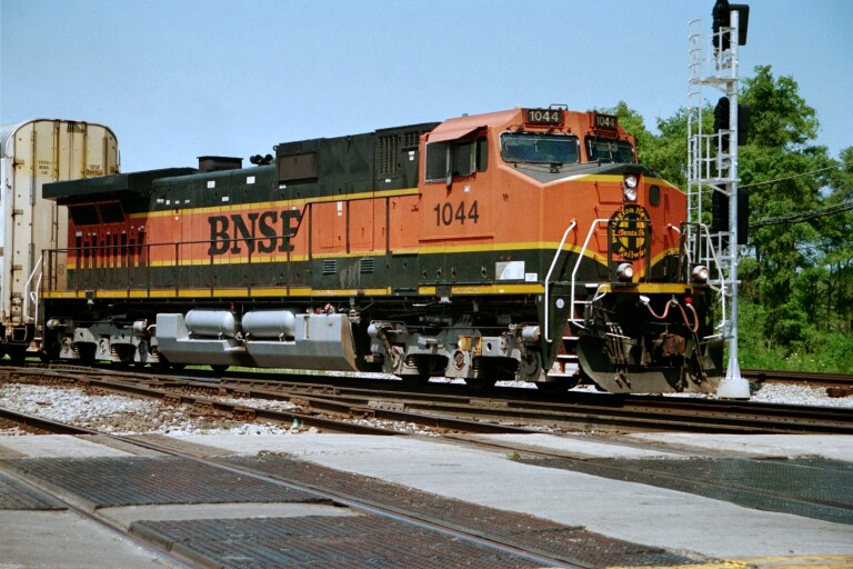 Burlington Northern Santa Fe at Blue Island, IL