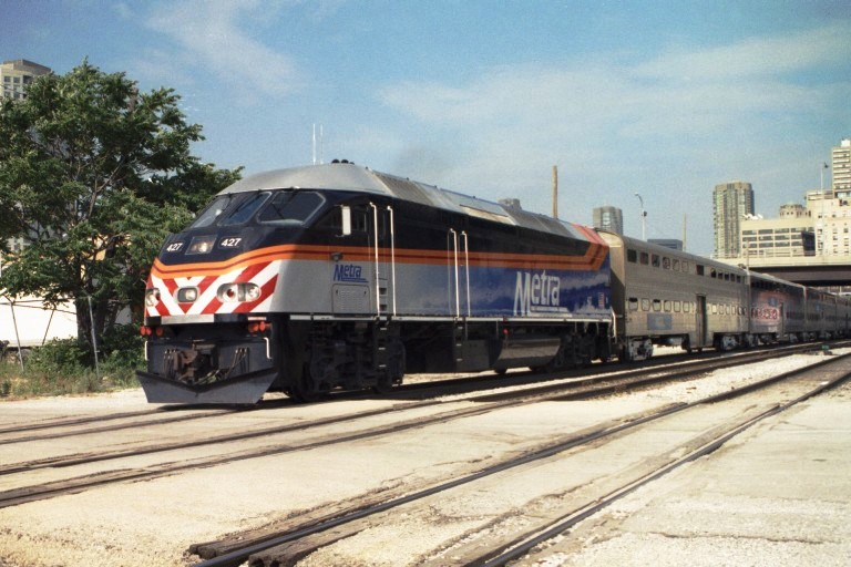 Metra 427 at Chicago, IL