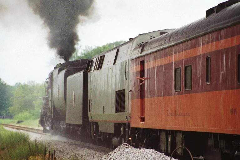 Milwaukee Road 261 at Wisconsin Dells, WI