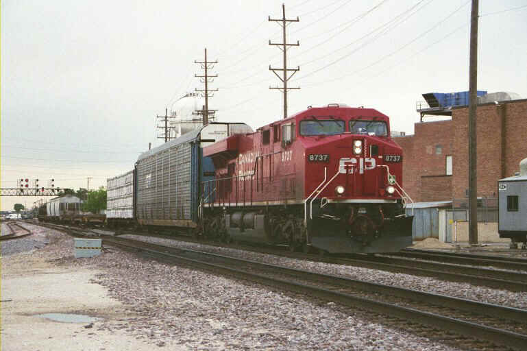 Canadian Pacific at Franklin Park, IL