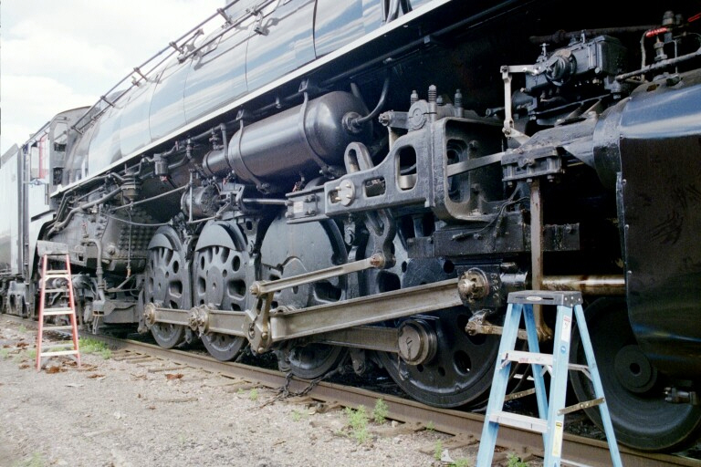 Milwaukee Road 261 Wheels