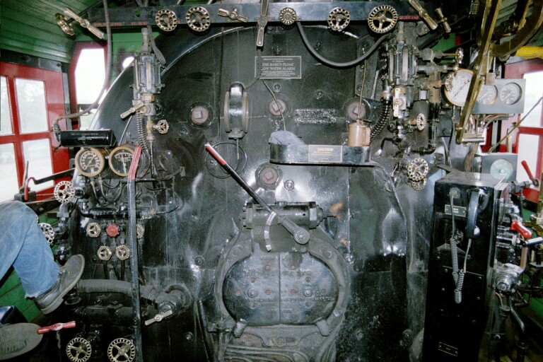 Milwaukee Road 261 Cab