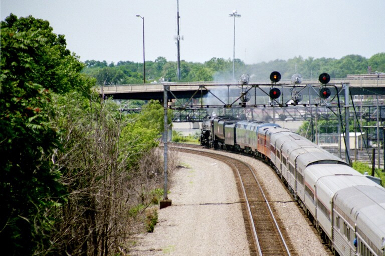 Milwaukee Road 261 at Aurora, IL