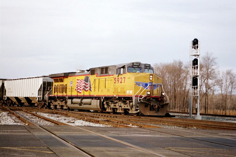 Union Pacific at Blue Island, IL