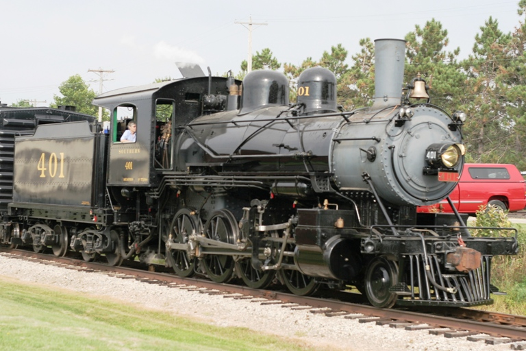 Southern 401 at Railway Museum