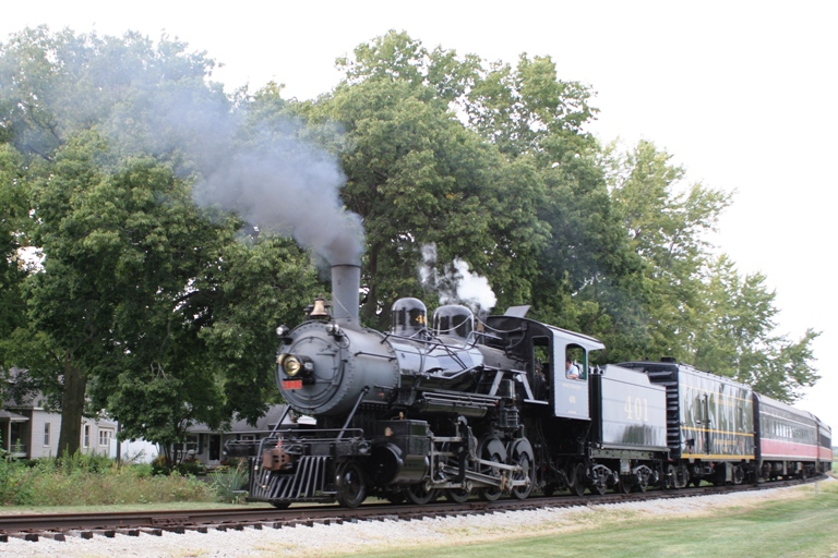 Southern 401 at Monticello, IL