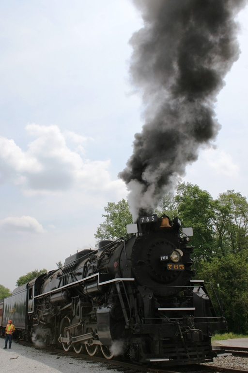 Nickel Plate Road 765 at North Judson, IN
