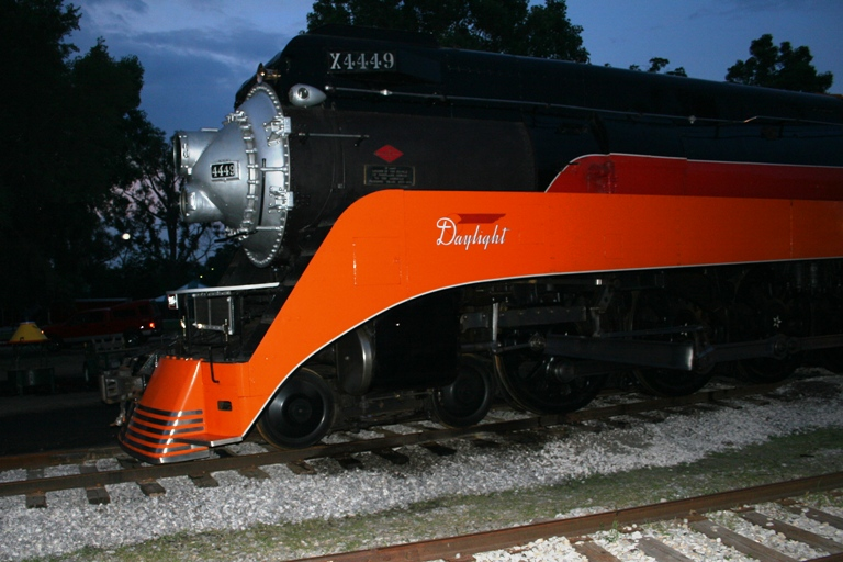 Southern Pacific 4449 at Owosso, MI
