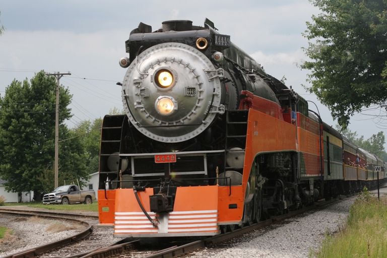 Southern Pacific 4449 at Ashley, MI