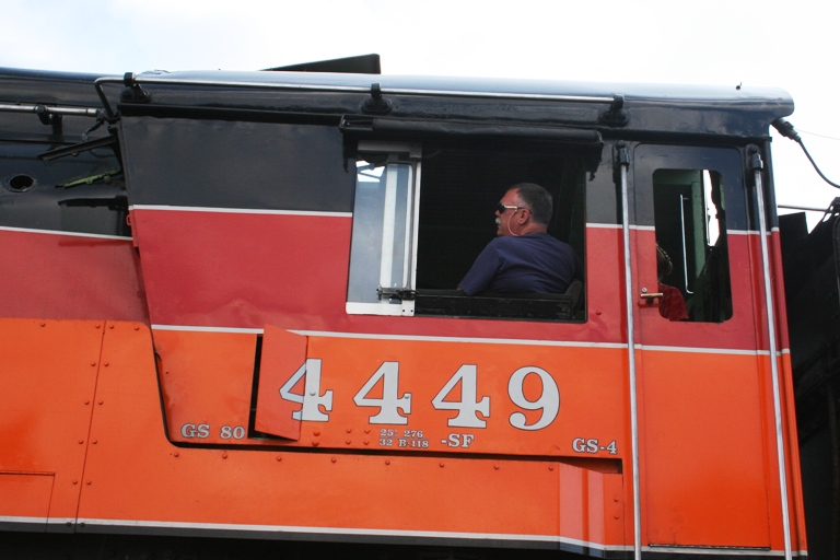 Southern Pacific 4449 Fireman