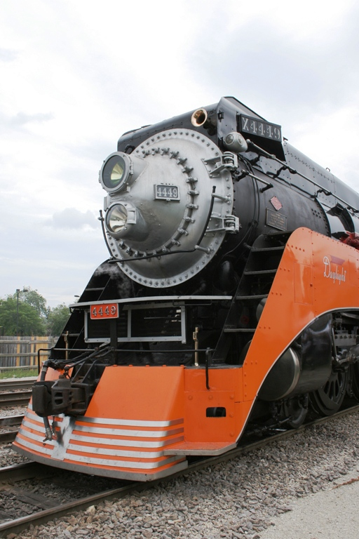 Southern Pacific 4449 at Franklin Park, IL