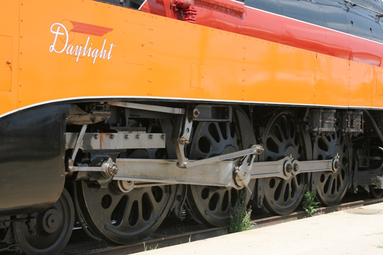 Southern Pacific 4449 Wheels